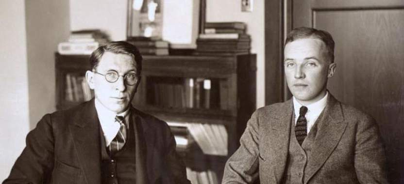 Frederick Banting and Charles H. Best